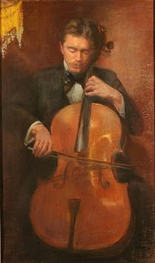 Leo Stern, drawing from 1895